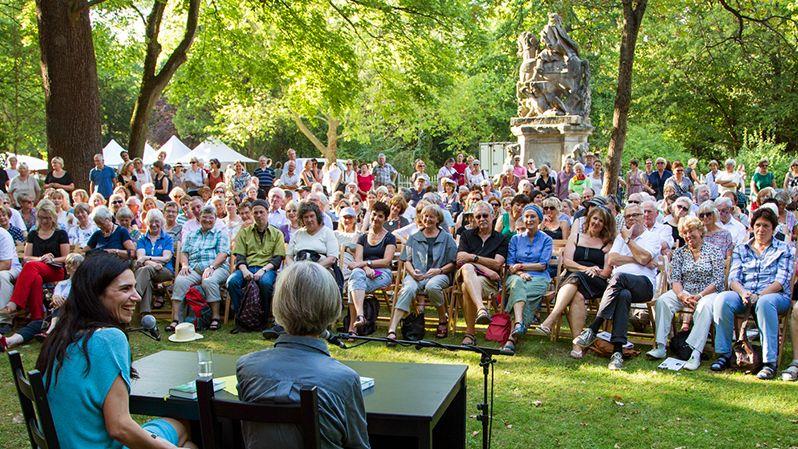 Gut besuchte Lesung beim Erlanger Poetenfest