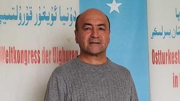 Asgar Can vom Weltkongress der Uiguren