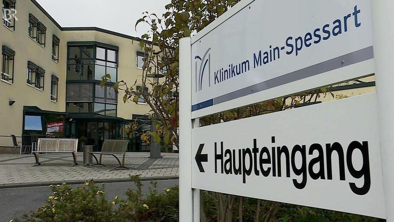 Eingangsbereich Klinikum Main-Spessart