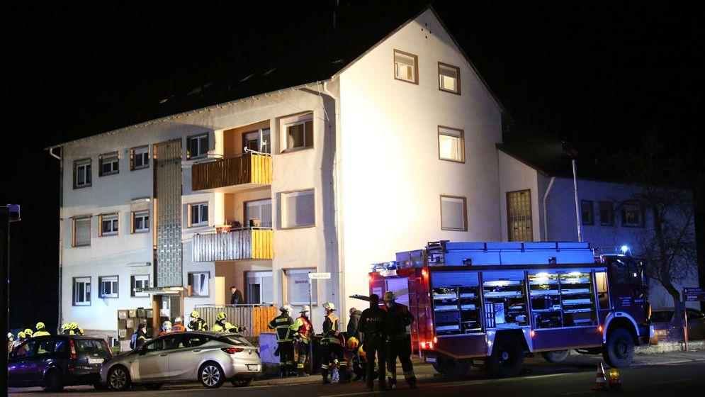 Großeinsatz in Asylunterkunft in Collenberg wegen Gasgeruch