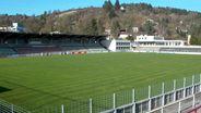 Das Stadion am Dallenberg in Würzburg