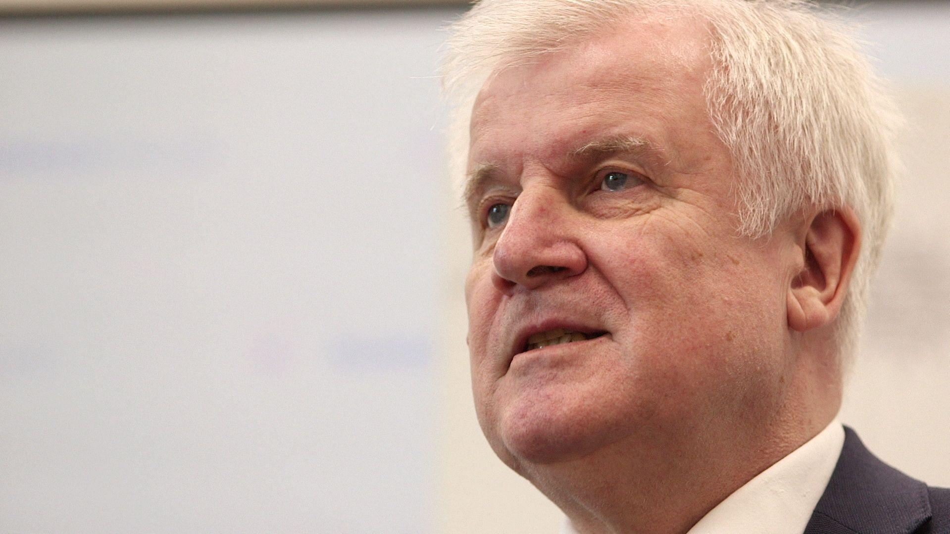 Bundesinnenminister Horst Seehofer, CSU.