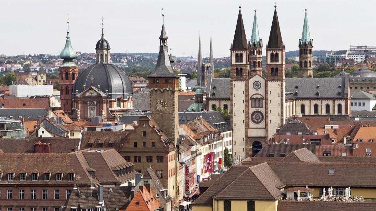 In der Stadt Würzburg ist die 7-Tage-Inzidenz bayernweit am Höchsten