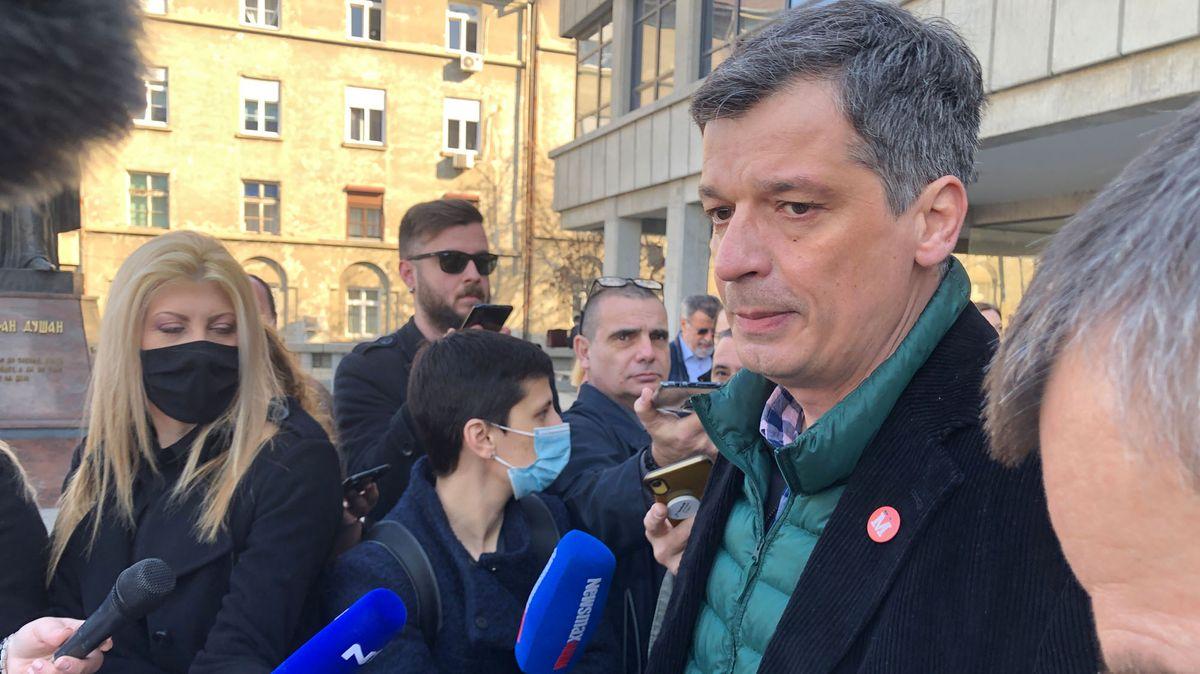 Željko Bodrožić, Präsident des Unabhängigen Journalistenverbands Serbiens