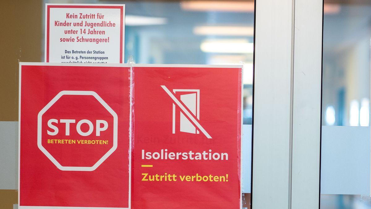 Symbolbild: Besuchsverbot in Kliniken