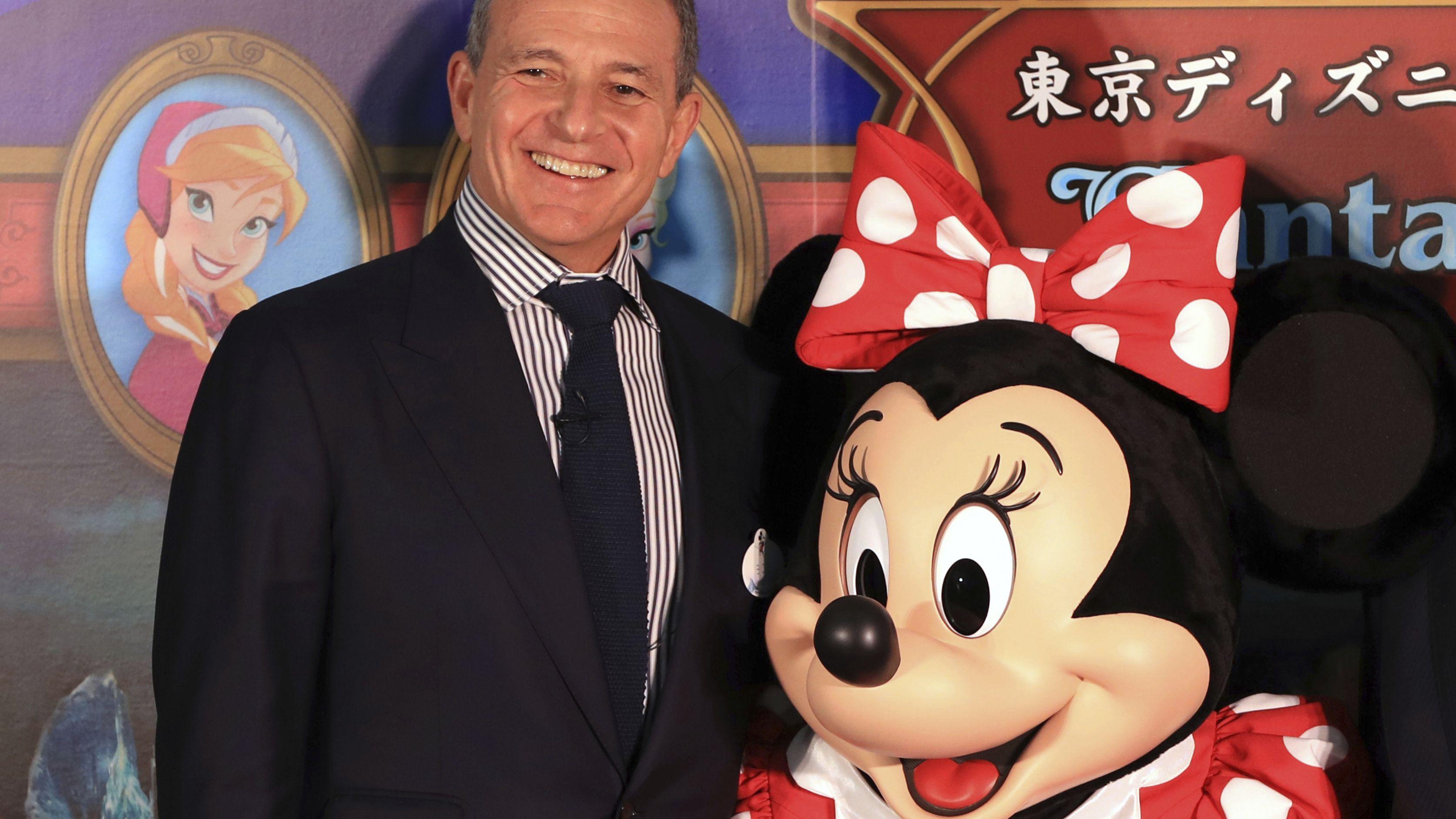 Der bisherige Walt Disney Chef Robert A. Iger
