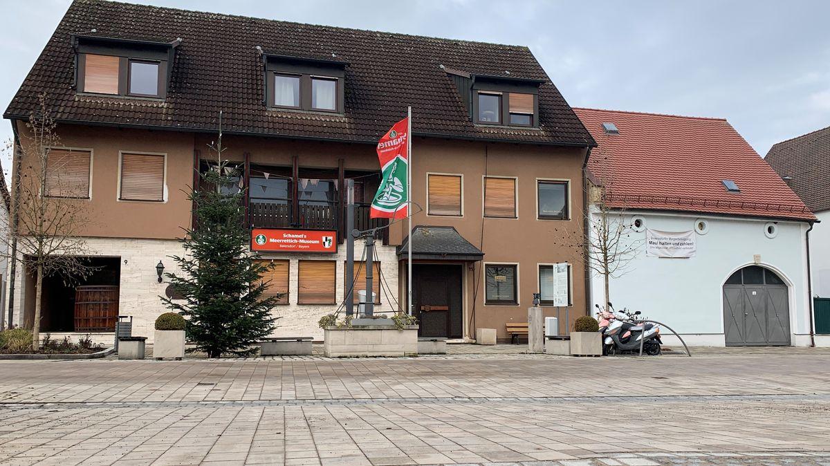 Das Meerrettich-Museum in Baiersdorf ist Geschichte.