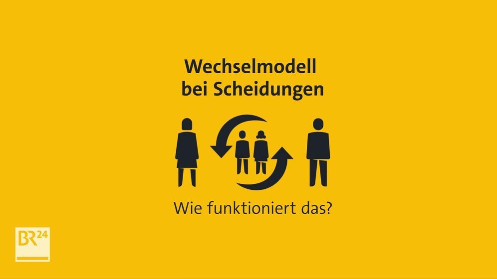 Wie funktioniert das Wechselmodell bei Scheidungen? | Bild:BR