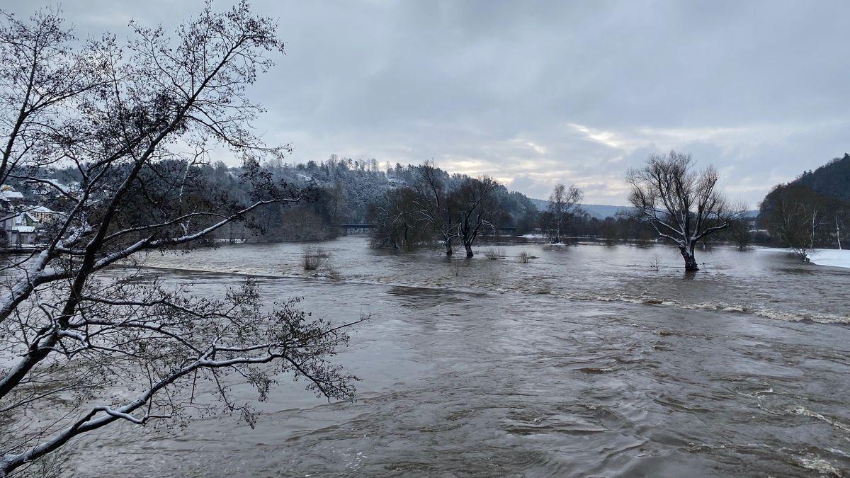 Hochwasser Bayern 2021