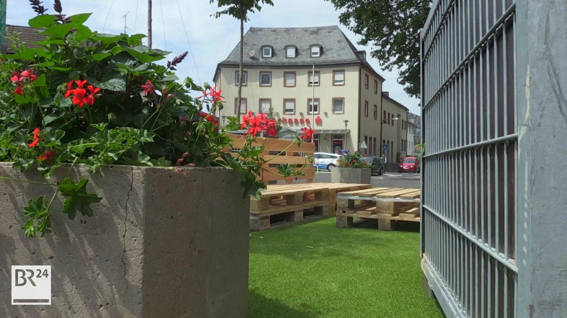 Pop-Up Park in Aschaffenburg