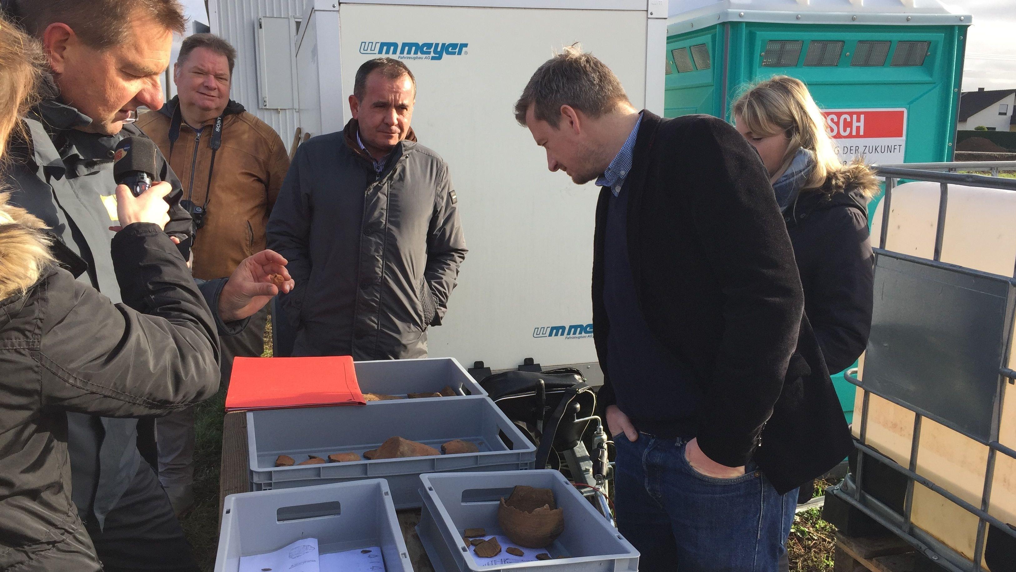 Archäologische Funde in Unterpleichfeld