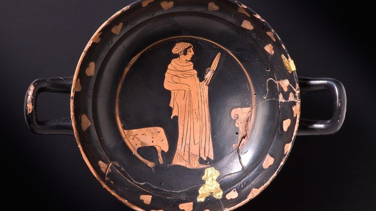 Kelten tranken Bier und Wein aus Griechen-Schalen