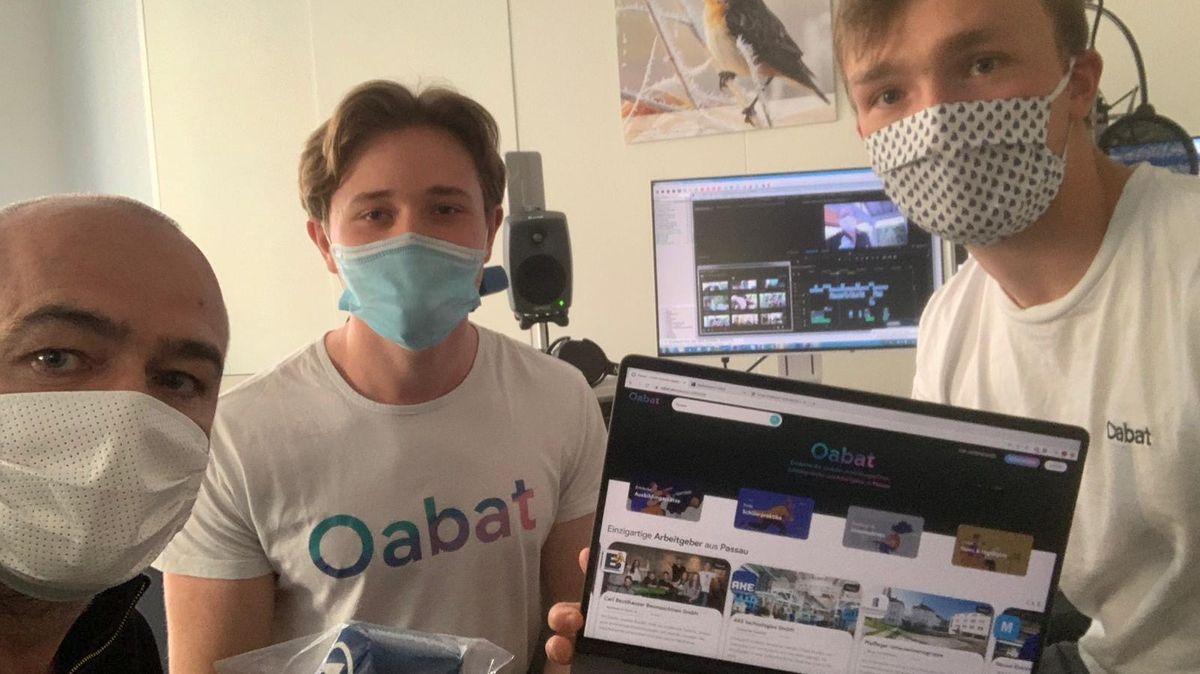 """Passauer Studenten haben die Online-Plattform """"Oabat"""" entwickelt."""