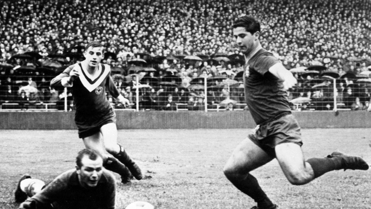 Gerd Müller in seinen Anfängen bei den Bayern