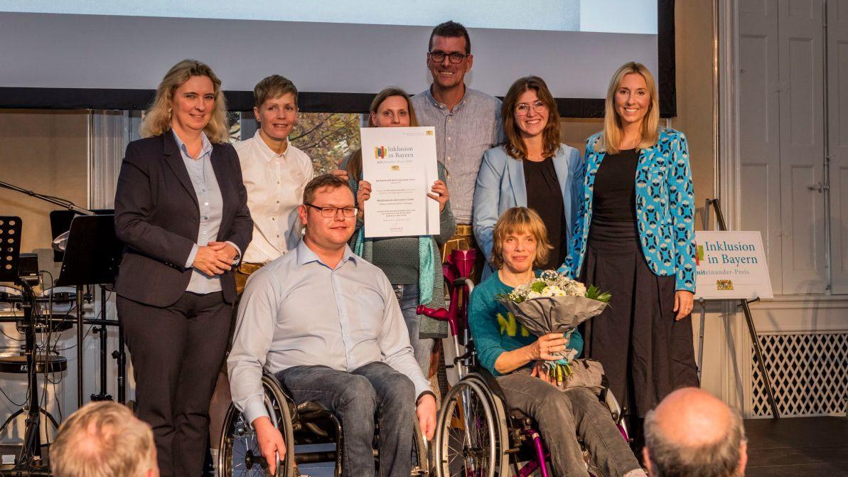 Bayerischer Miteinander-Preis für Mainfränkische Werkstätten