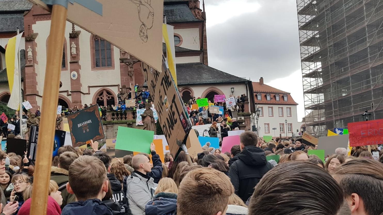 """""""Fridays for Future""""-Demo in Aschaffenbur"""
