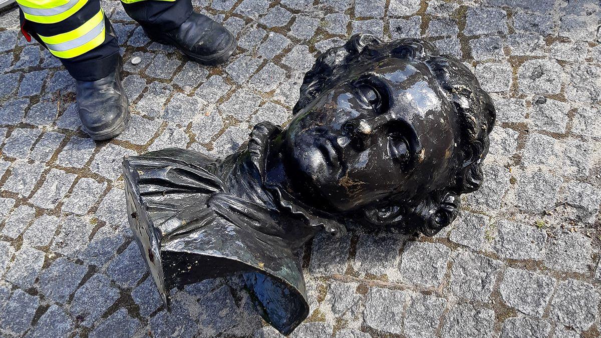 Kupferbüste von König Ludwig II.