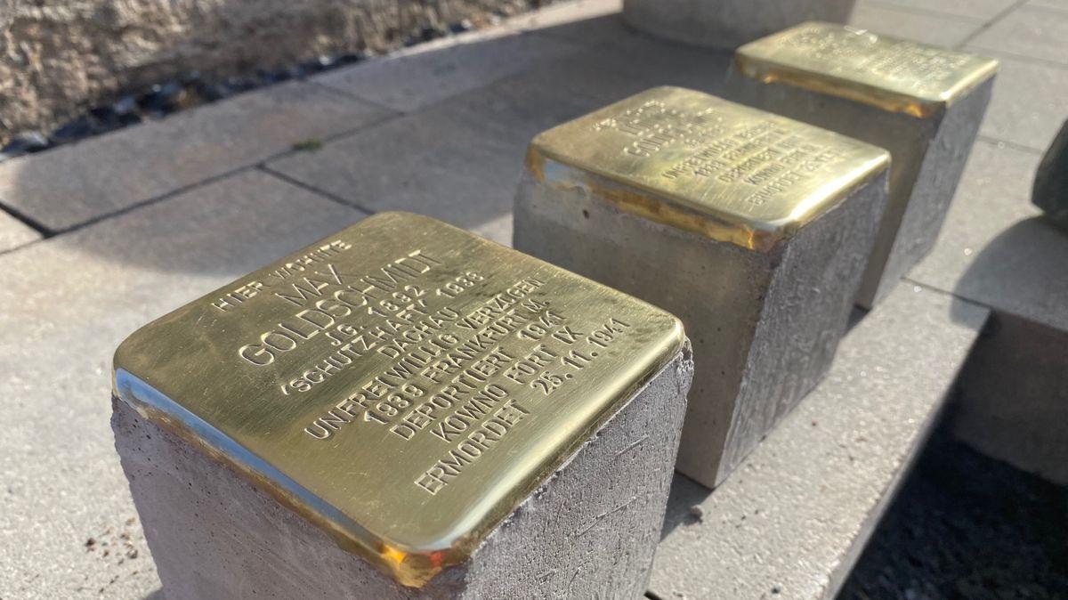Stolperstein für Bad Brückenauer Max Goldschmidt