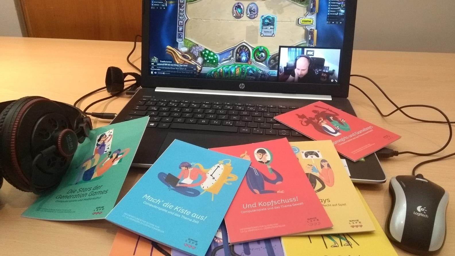 Neue Eltern-Informationsflyer zu Computerspielen des Bayerischen Familienministeriums