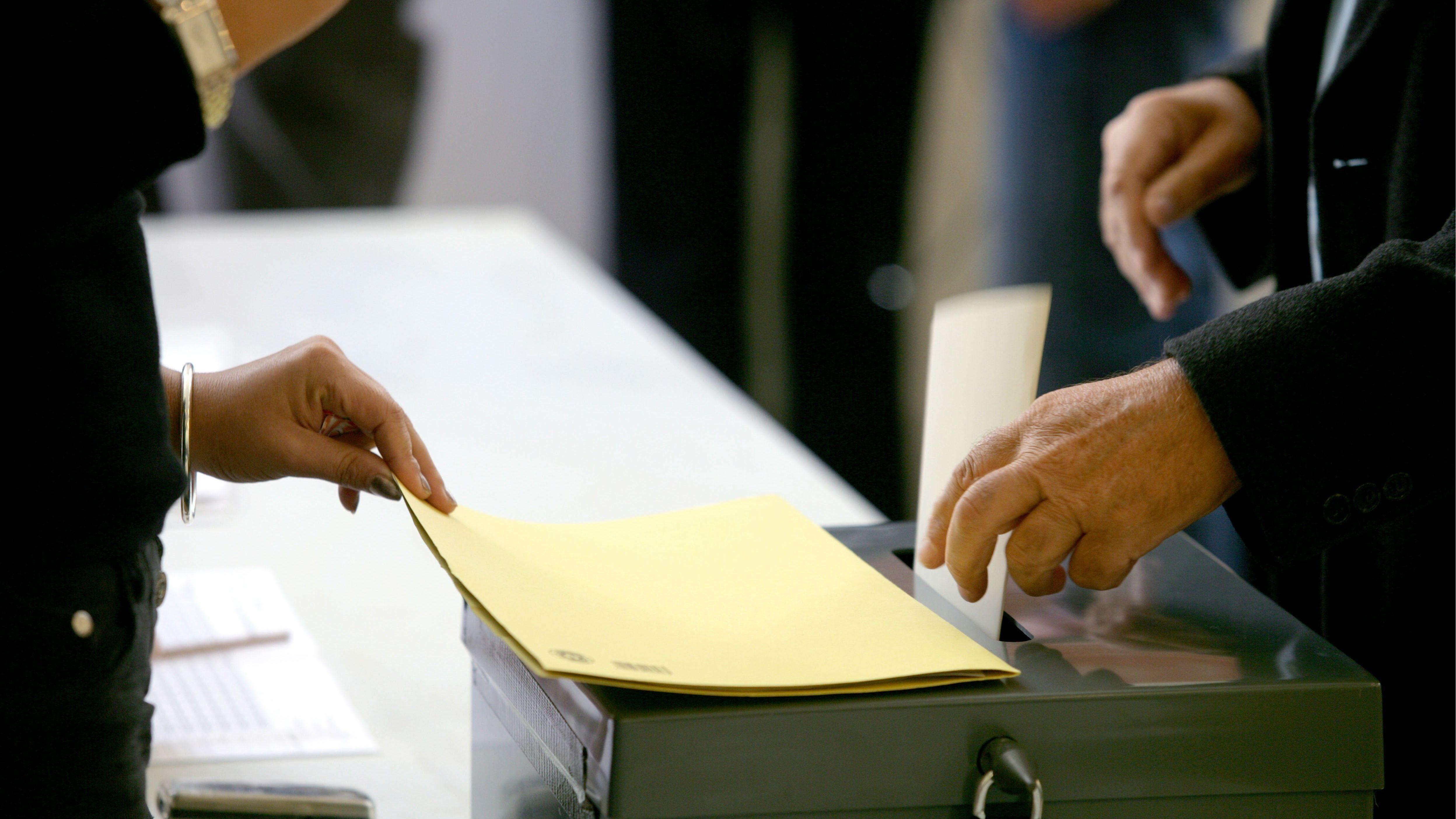 Symbolbild Wahlzettel