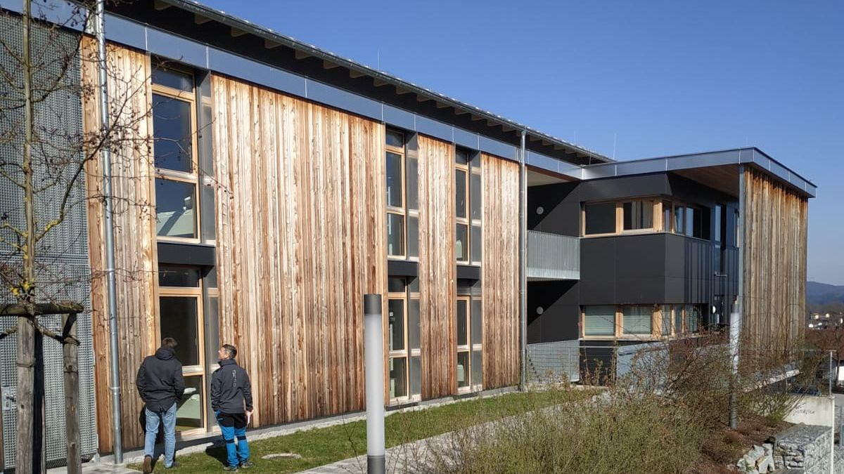 Aus dem Internat der Hotelsberufsschule in Viechtach wird eine Fieberklinik für Corona-Patienten