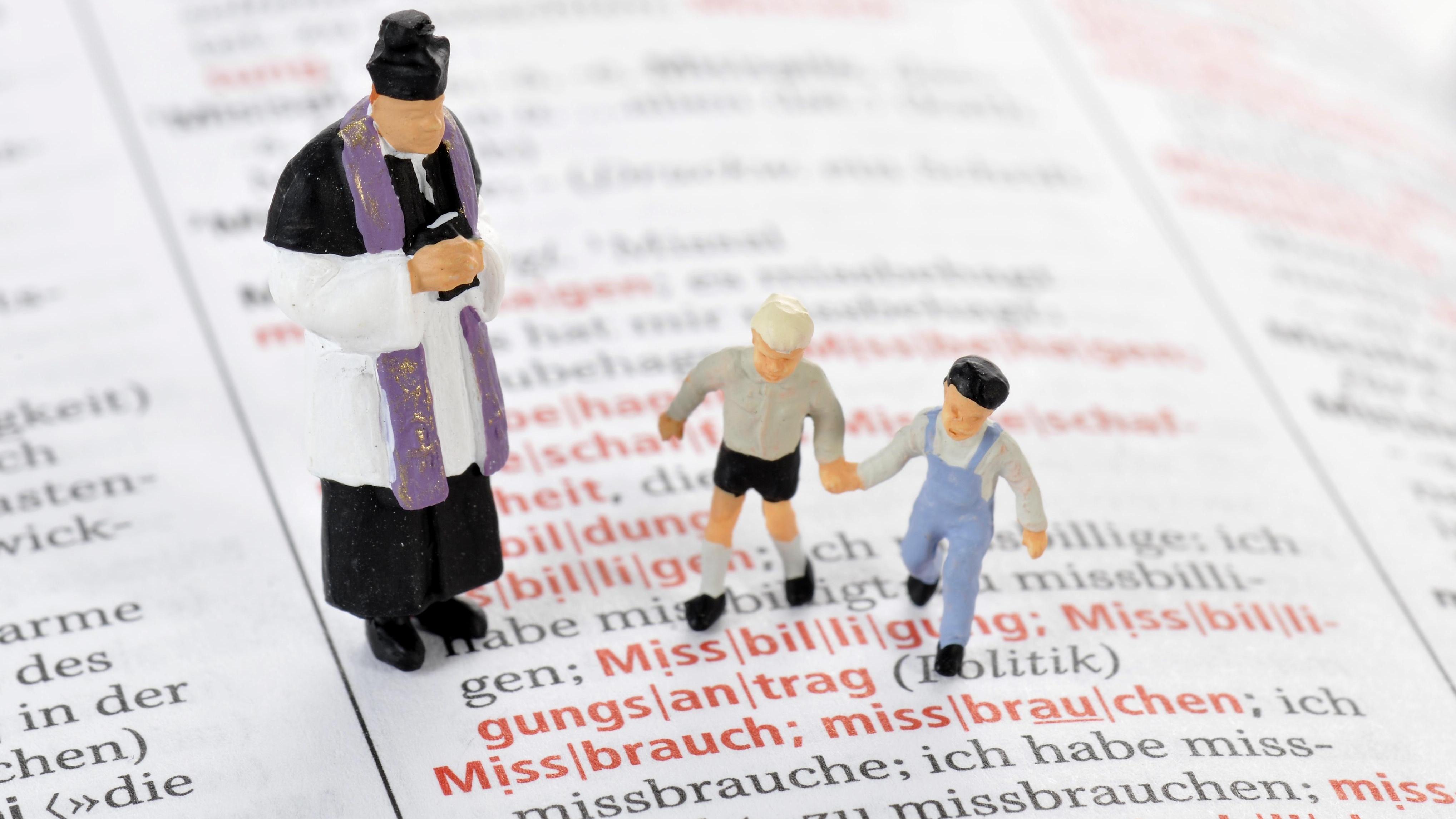 Symbolbild: Sexueller Missbrauch von Kindern durch Priester