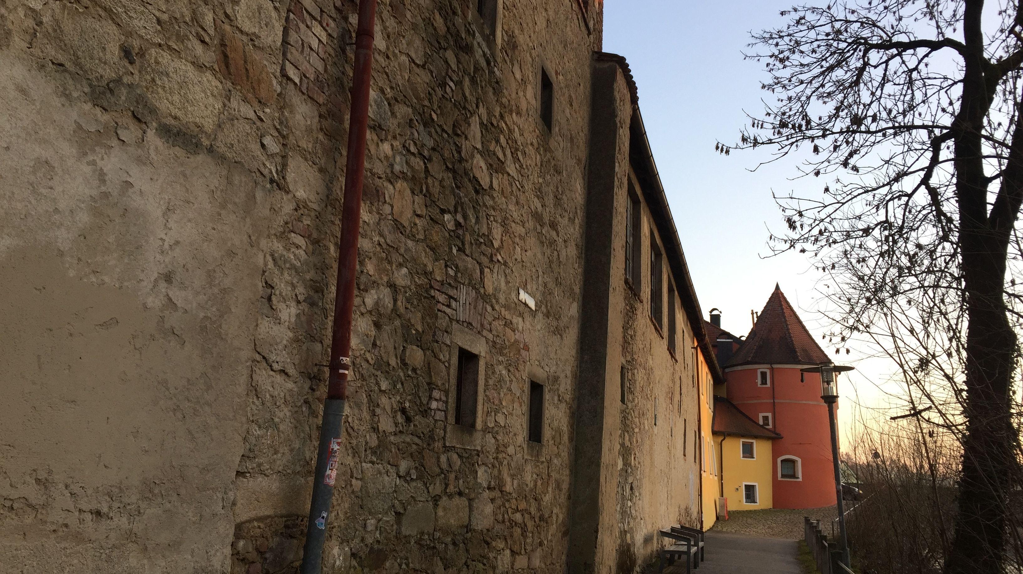 Die ehemalige Brauerei neben dem Chamer Biertor
