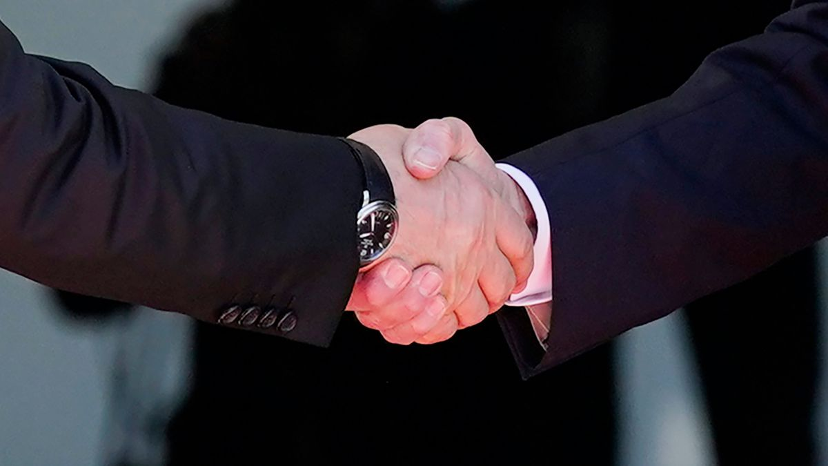 US-Präsident Biden und Russlands Präsident Putin in Genf