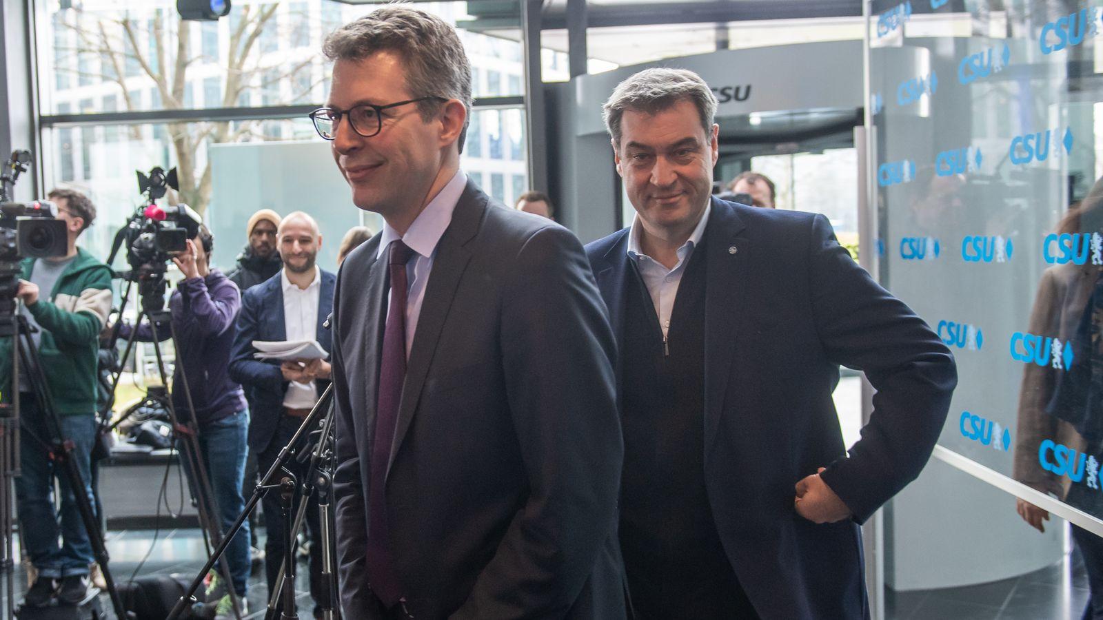 Kommunalwahlen: CSU sieht Grüne als Hauptgegner