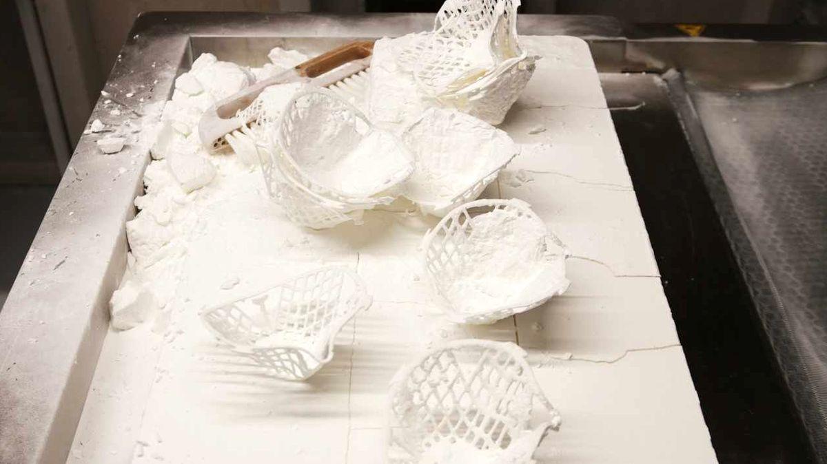 Gesichtsmaske aus dem 3D-Drucker