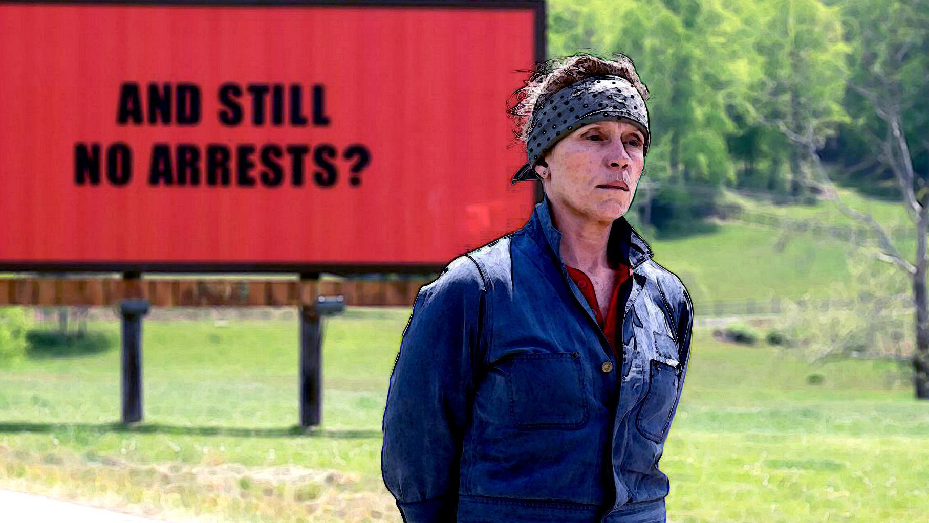 """Three Billboards outside Ebbing, Missouri"" von Martin McDonagh"