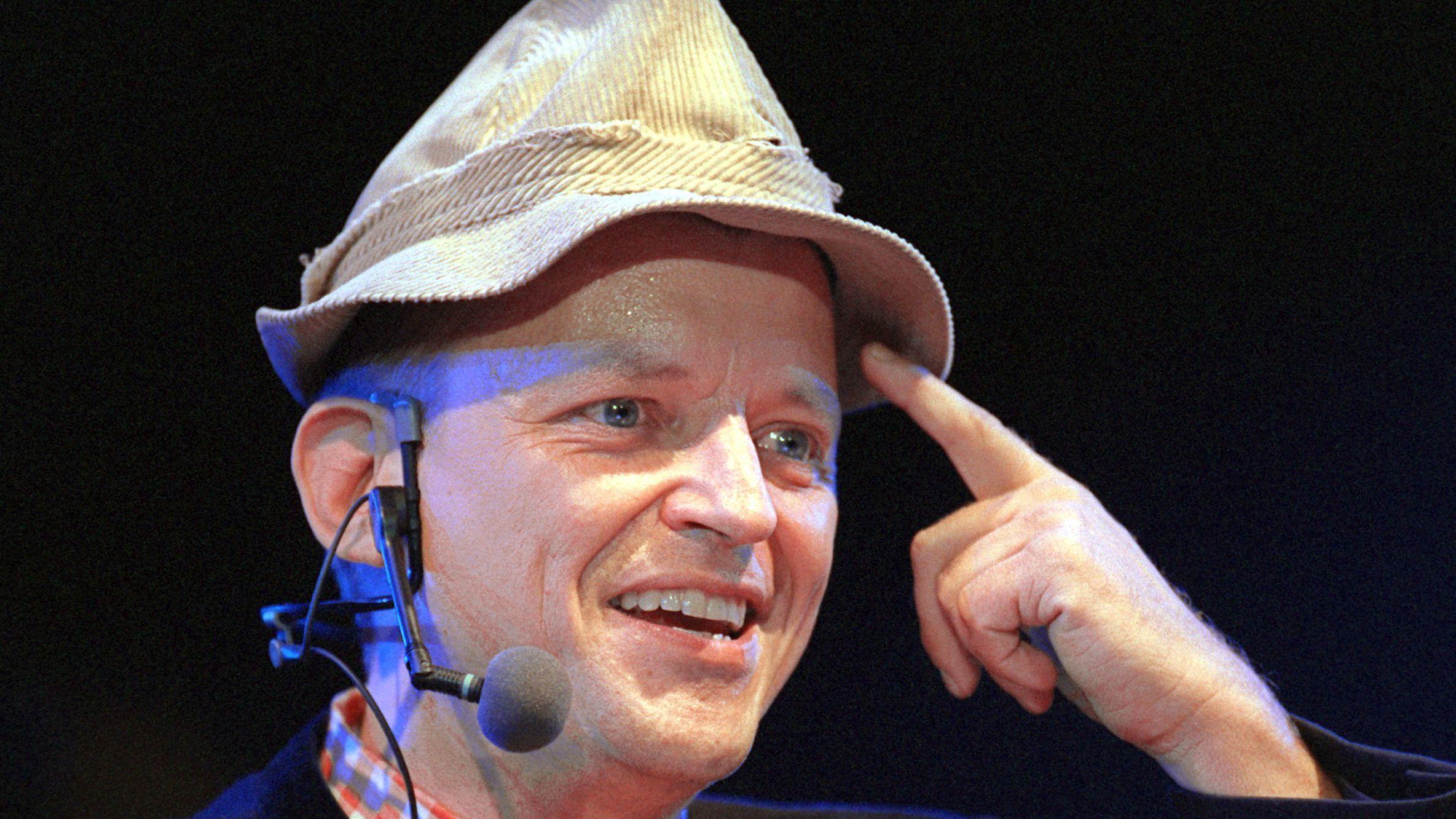 Frank-Markus Barwasser als Erwin Pelzig.