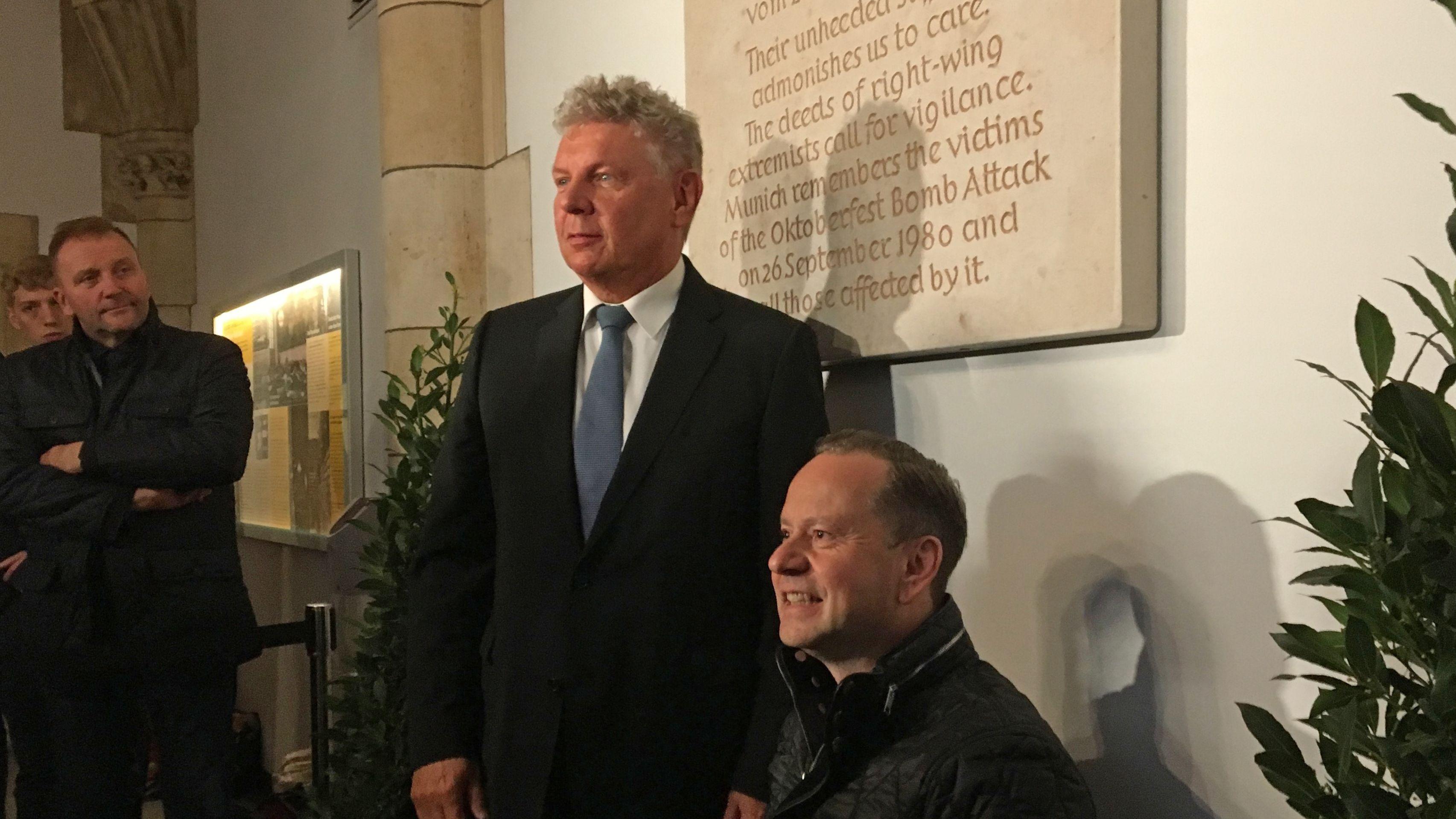 Oberbürgermeister Dieter Reiter und Dimitrios Lagkadinos
