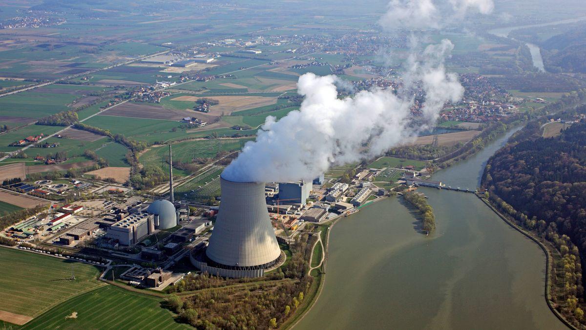 Kernkraftwerk Isar 2 bei Landshut