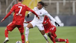 Spielszene Bayern II - FC Ingolstadt | Bild:imago images/Stefan Bösl