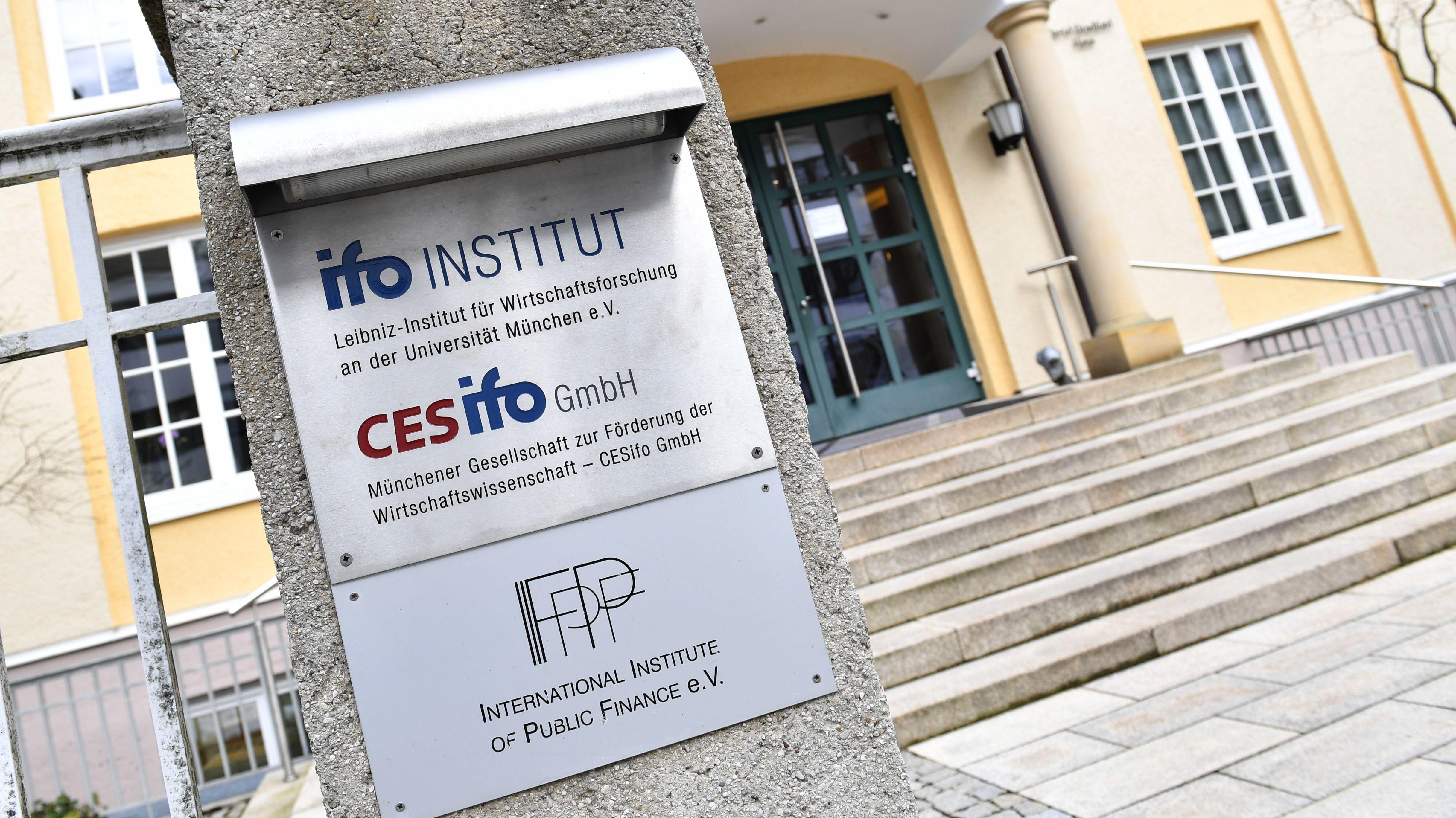 Der Eingang des Ifo-Instituts in München
