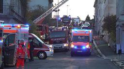 Brand in einem Mehrfamilienhaus in Helmbrechts | Bild:BR