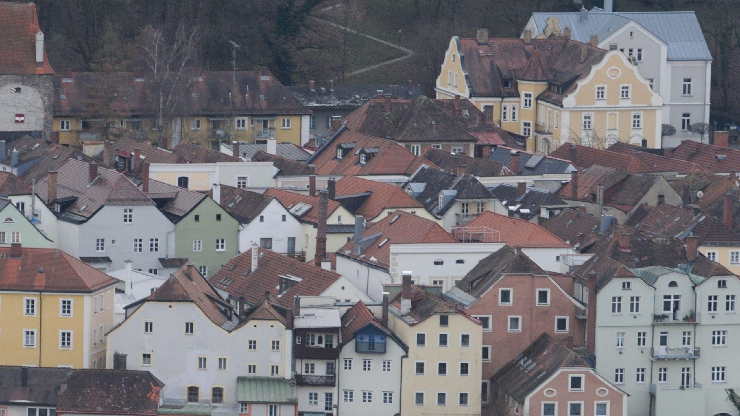 Die Passauer Innstadt