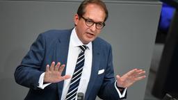 Der Vorsitzende der CSU-Landesgruppe steht in der Kritik | Bild:Bernd Von Jutrczenka/dpa