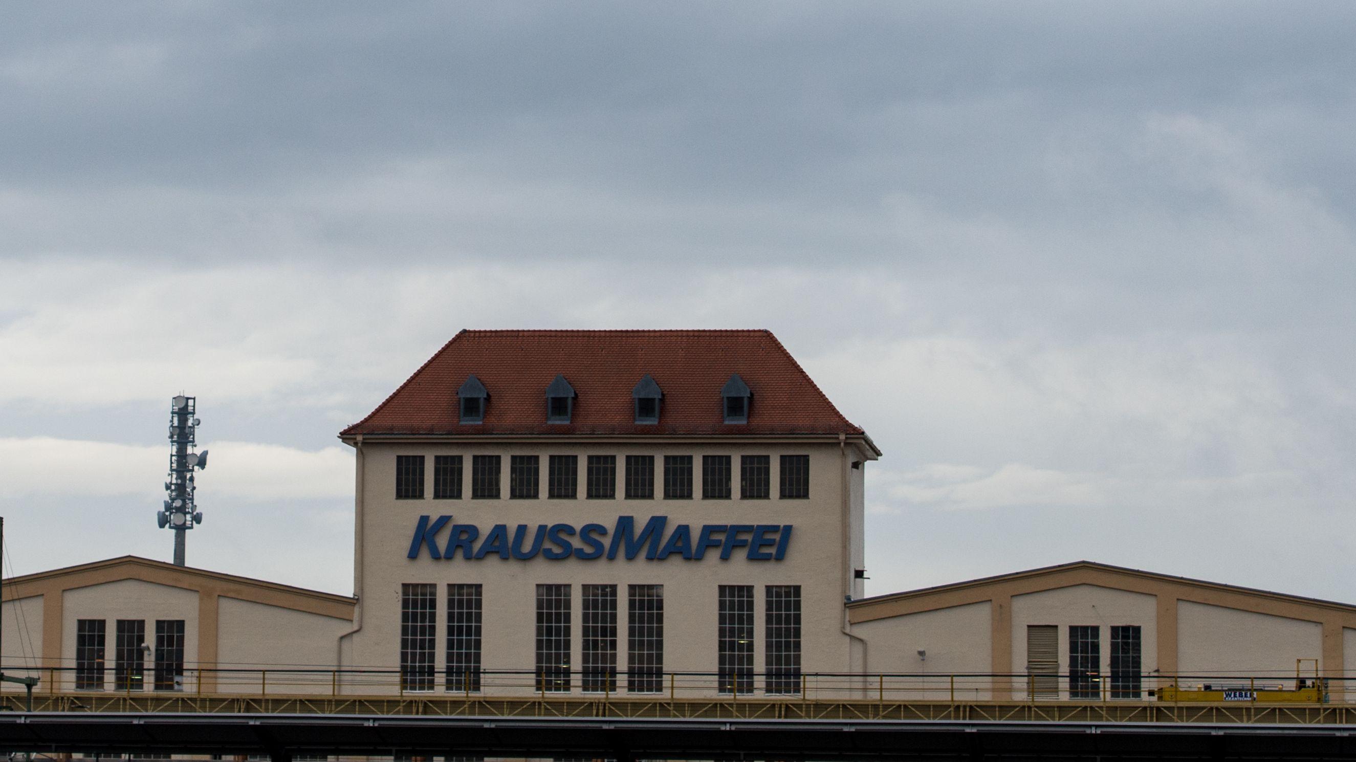 """Werksgelände der KraussMaffei Group"""" in Allach bei München"""