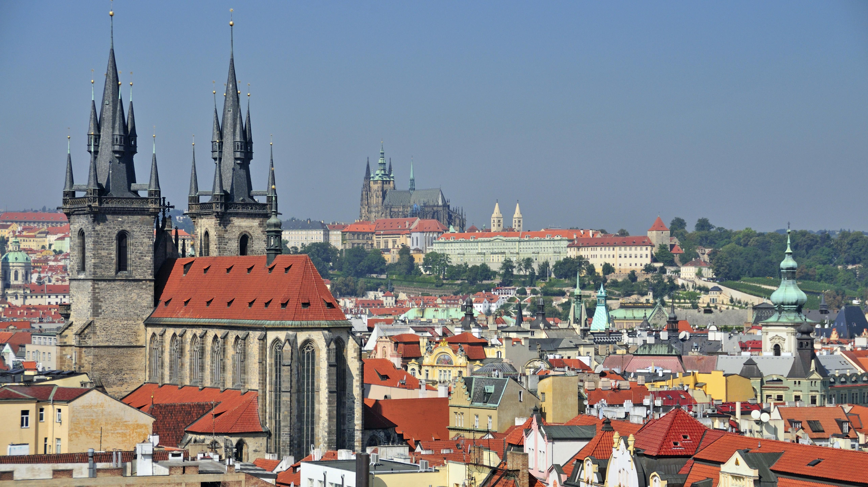 Prag: Panorama-Aufnahme