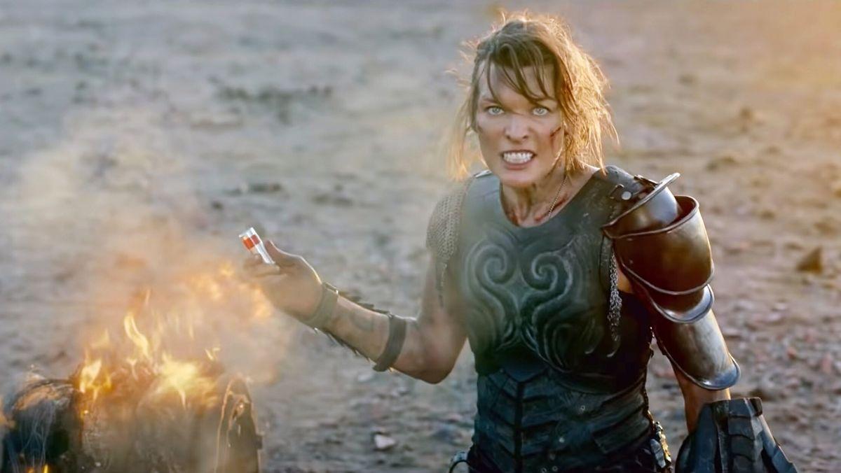 Schauspielerin legt Feuer