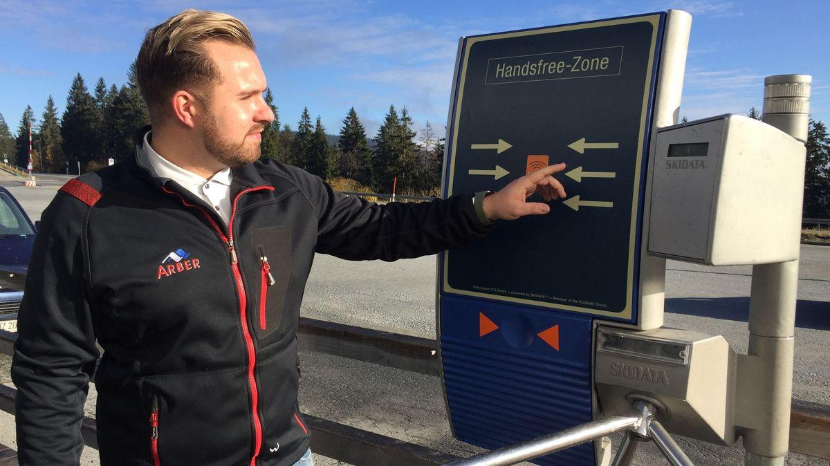 Andreas Stadler, Pressesprecher der Arberbergbahn