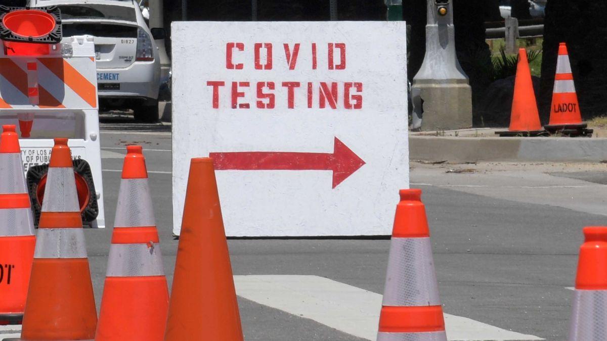 Corona-Tests in USA (Symbolbild)