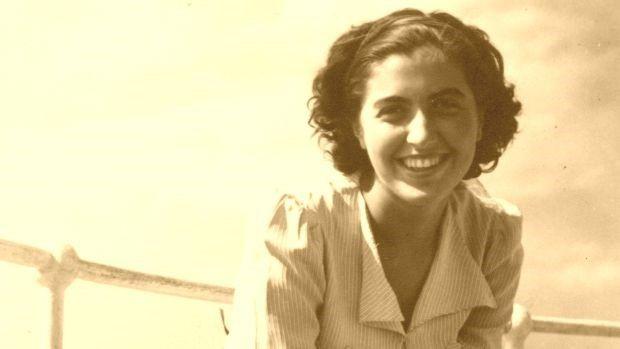 Fotographie von Hilda Dajč, aufgenommen vor dem Krieg.