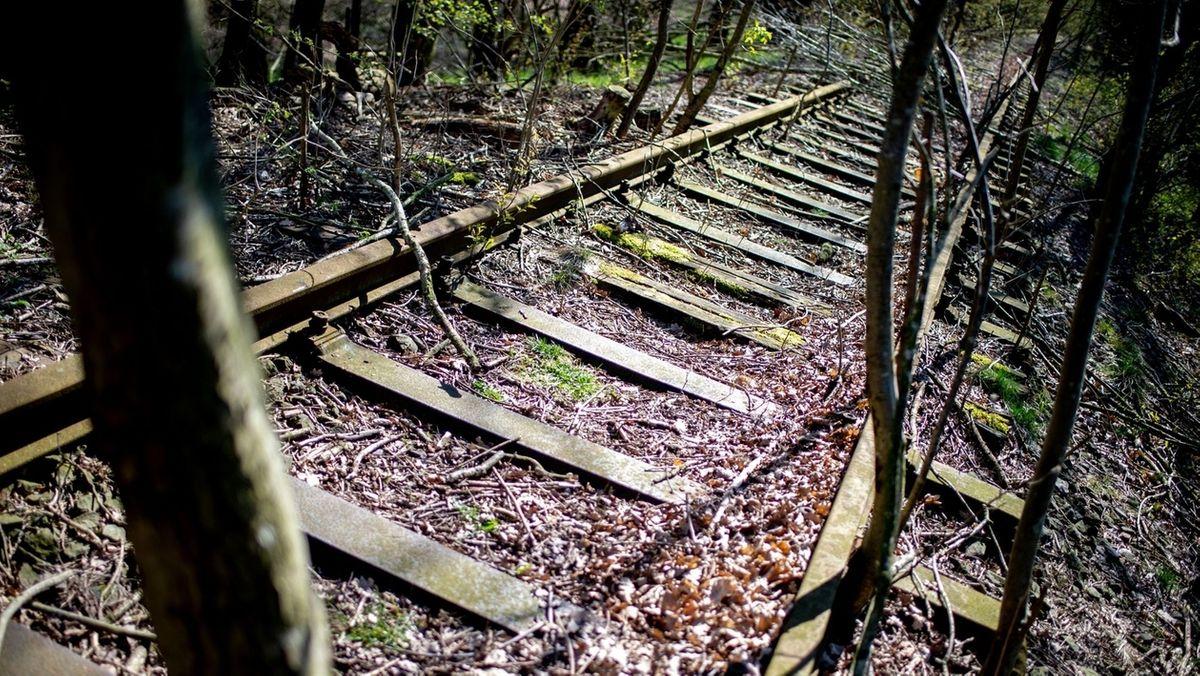 Eine stillgelegte Bahnstrecke