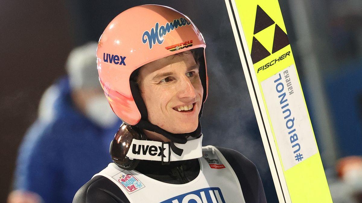 Am Ende zufrieden mit Platz zwei: Karl Geiger
