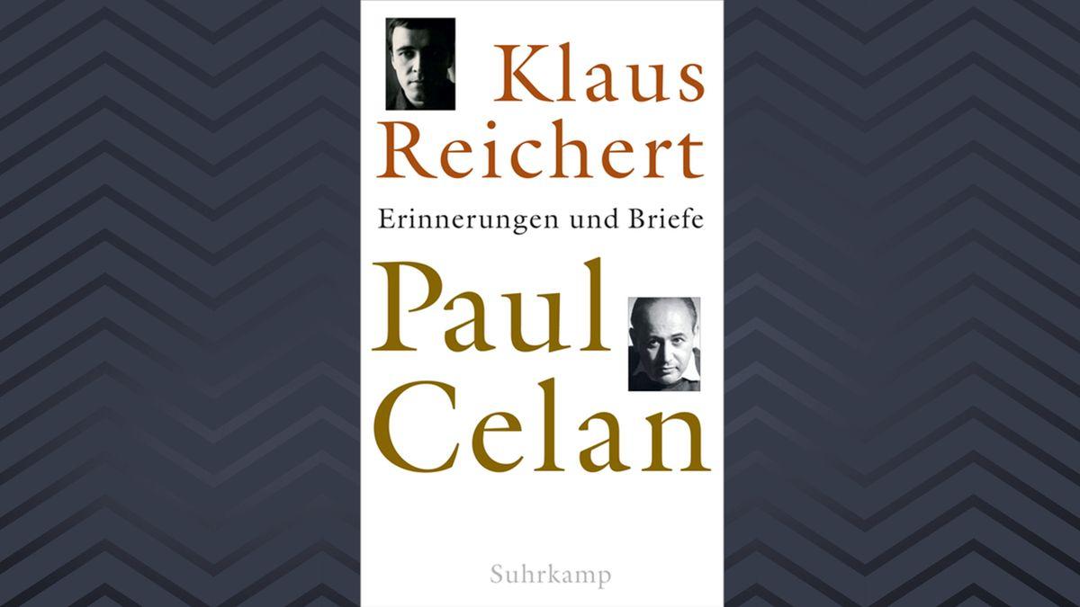 """Buch-Cover von Klaus Reicherts """"Paul Celan. Erinnerungen und Briefe"""", mit Fotos von Reichert und Celannur als e-Book erschienen"""