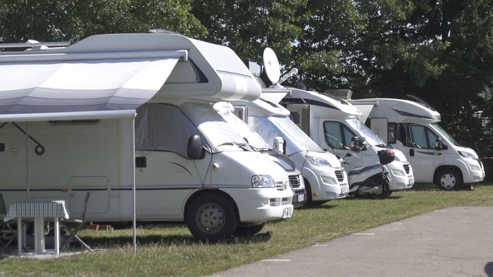 Wegen Corona: Wohnmobil-Schwemme im Fränkischen Seenland  BR10