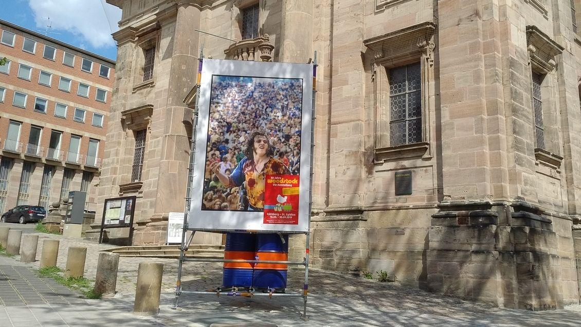 50 Jahre Woodstock: Fotografien von Elliott Landy in Sankt Egidien, Nürnberg